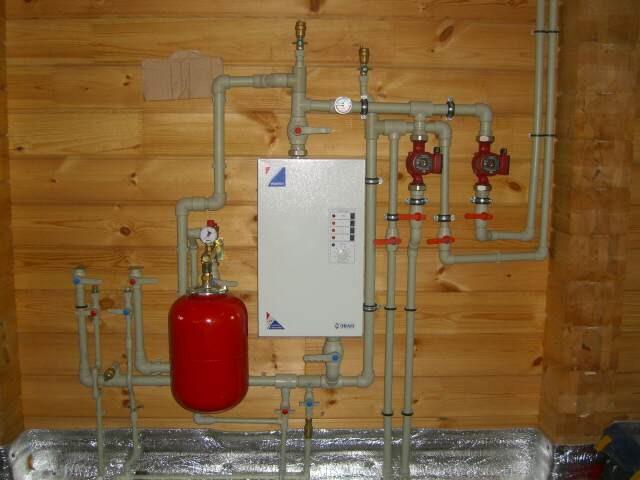 Отопление своими руками в частном доме электрокотел